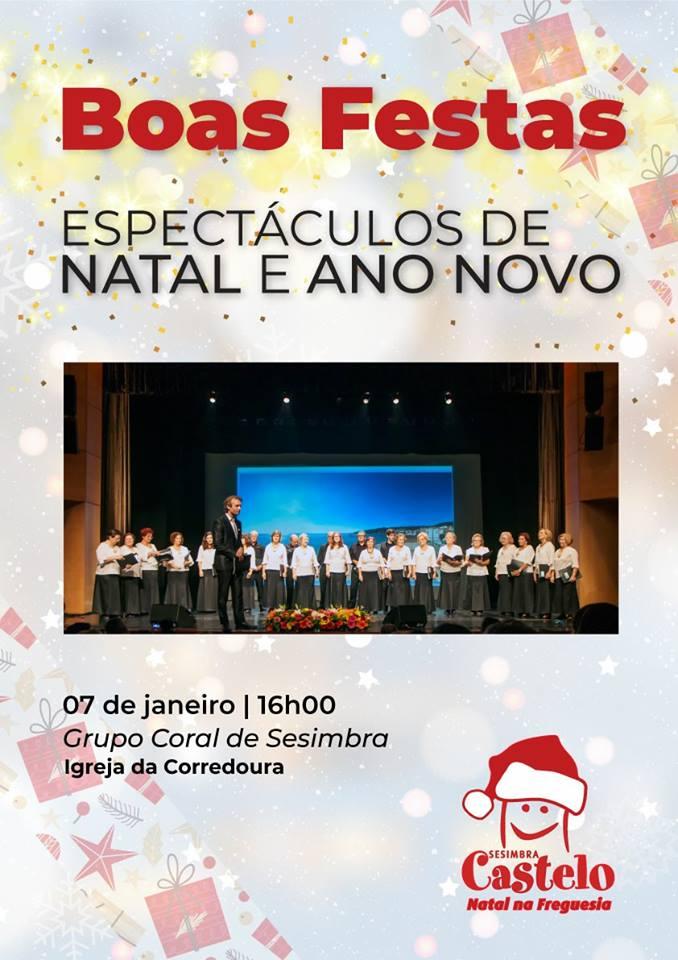 Espetáculo Musical de Ano Novo