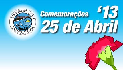 ACRUTZ comemora 25 de Abril