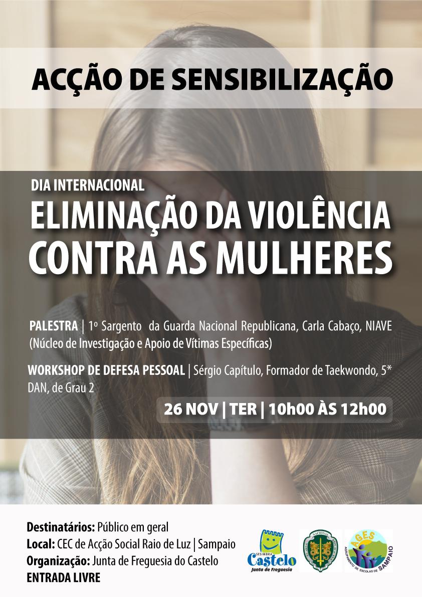 Dia Internacional pela Eliminação Violência contra Mulheres