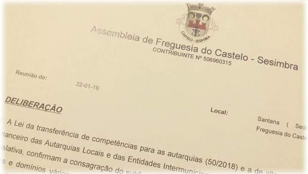 """Junta e Assembleia de Freguesia do Castelo, reiteram o """"não"""""""