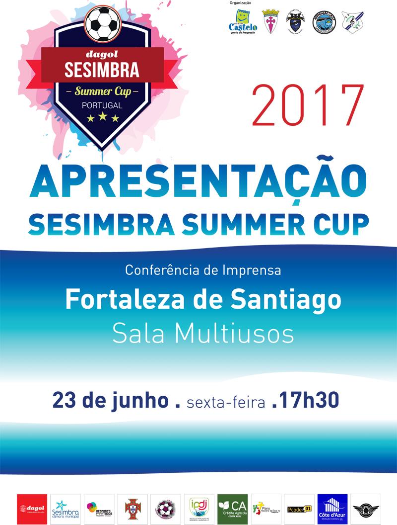 Conferência de Imprensa Sesimbra Summer Cup