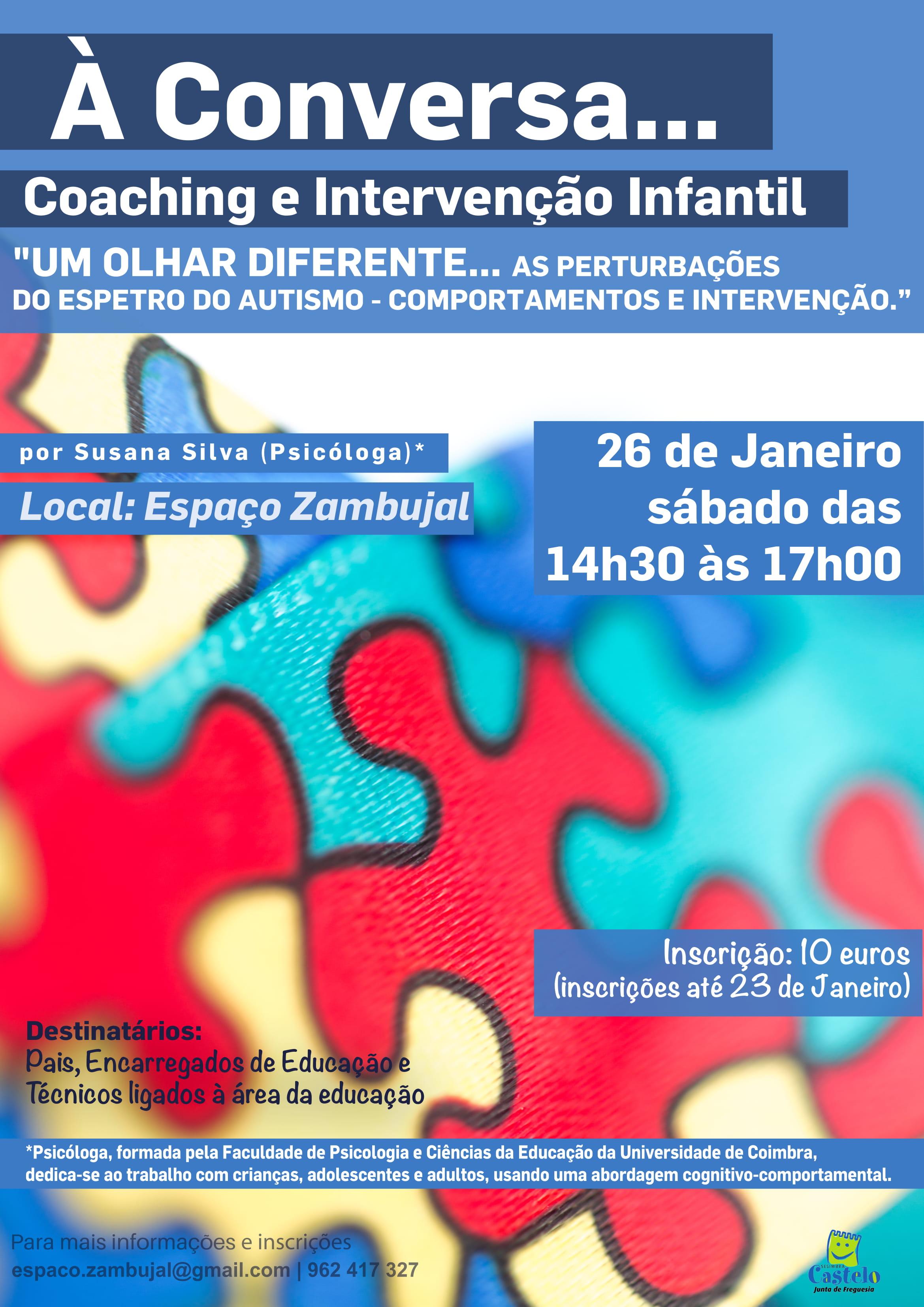 À Conversa... Coaching e Intervenção Infantil
