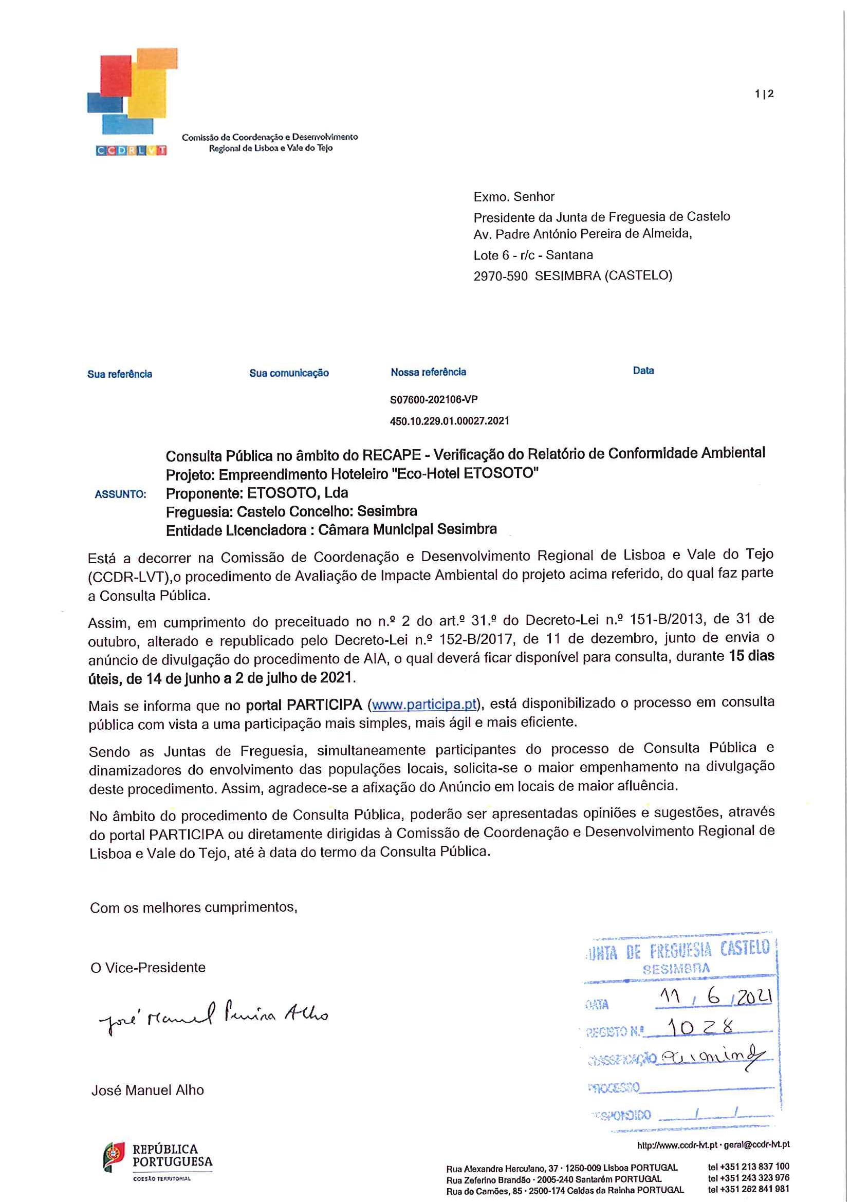 Procedimento de Avaliação de Impacto  Ambiental _  Projeto ECO HOTEL - Etosoto