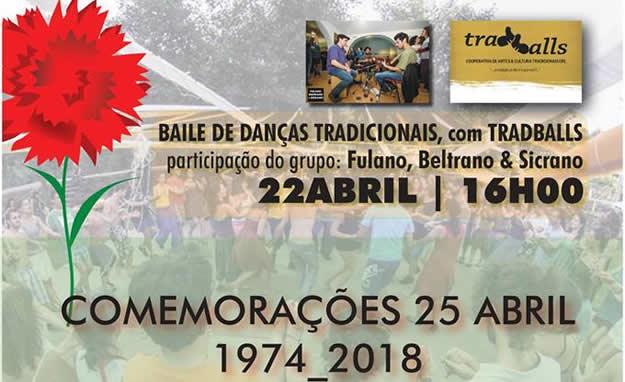 25 de Abril - Baile de Danças Tradicionais