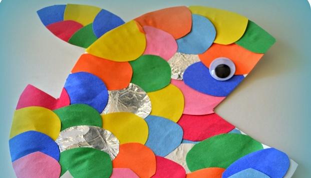 Oficina de Expressão Plástica | Peixinho Colorido