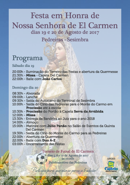 Festa em Honra de Nª Srª de EL Carmen