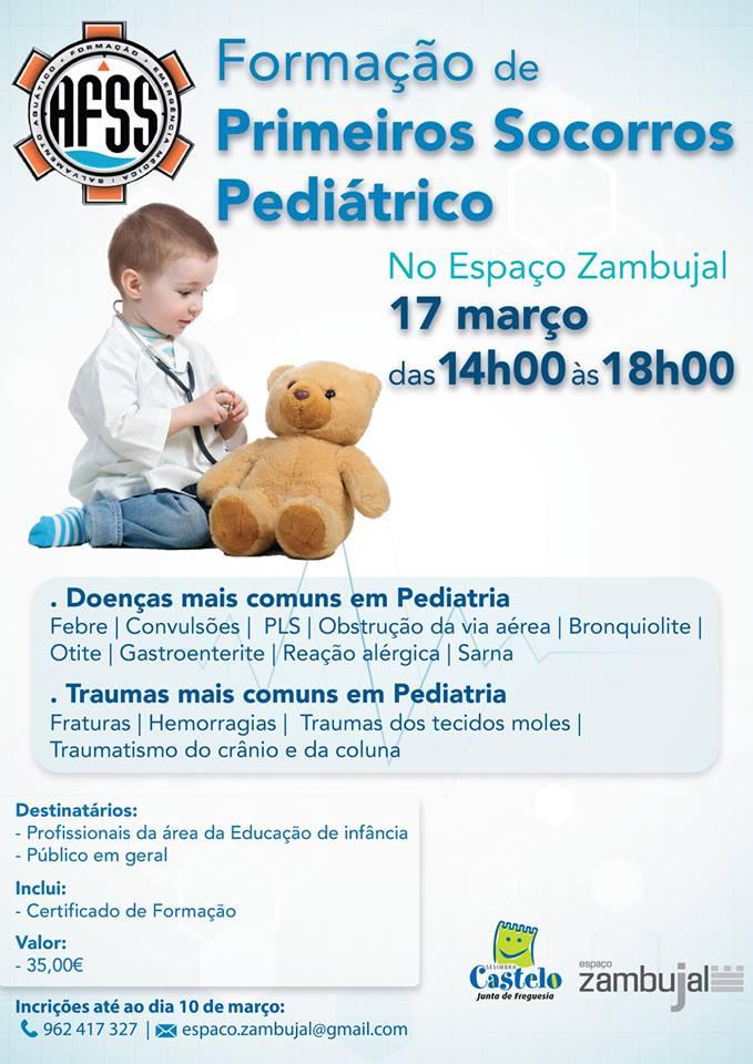 Formação de Primeiros Socorros Pediátricos