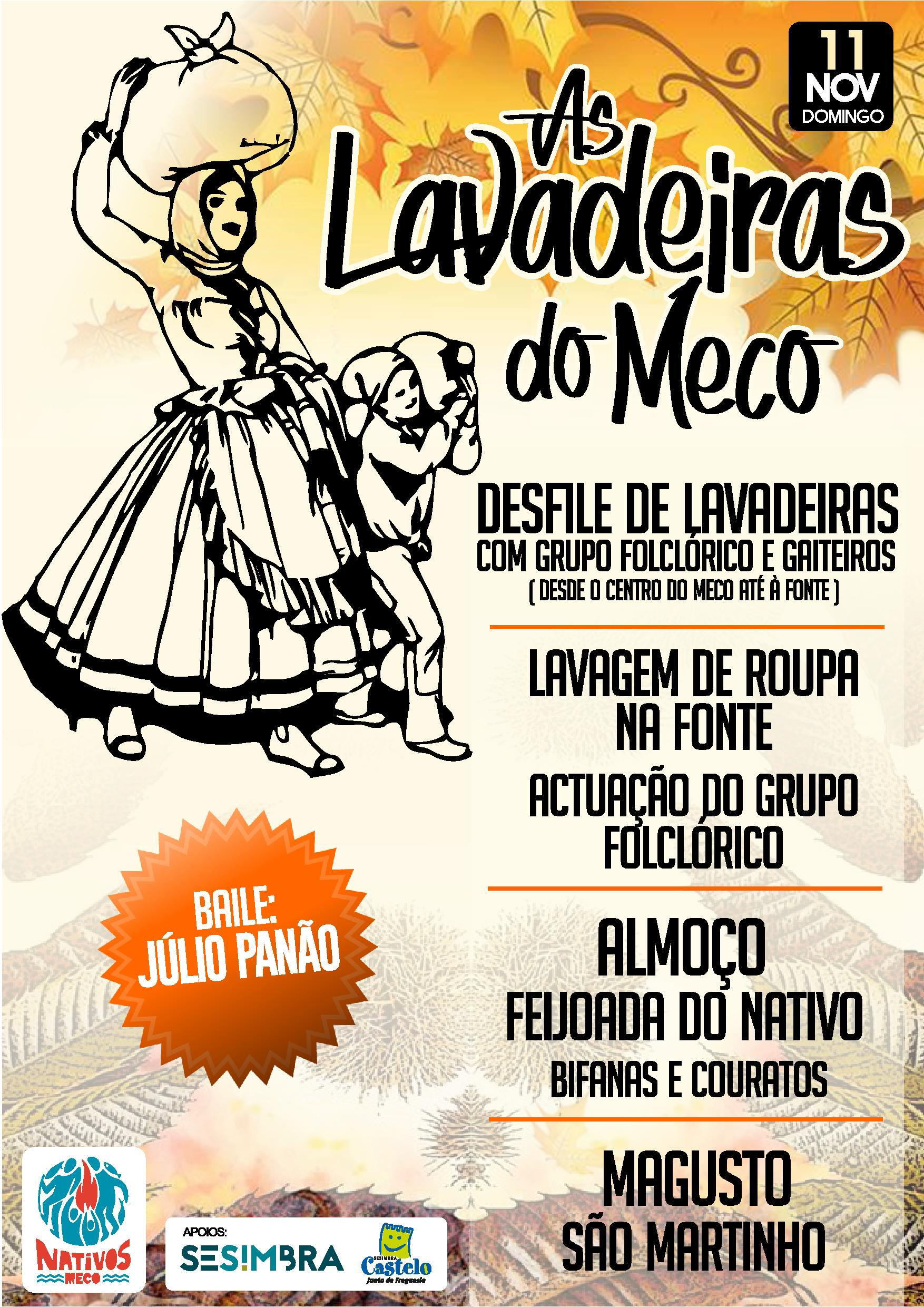 As Lavadeiras do Meco ( recriação) | Nativos do Meco