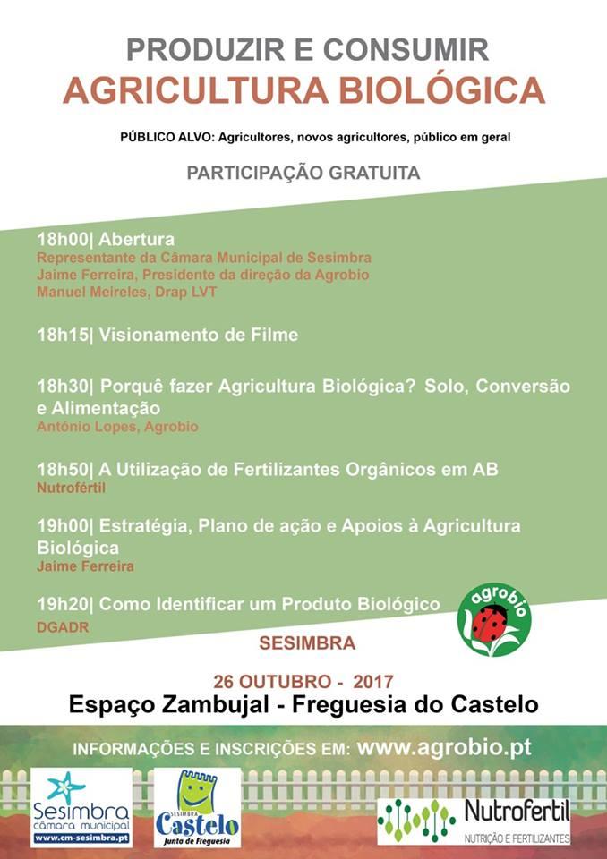 Produzir e Consumir: AGRICULTURA BIOLÓGICA