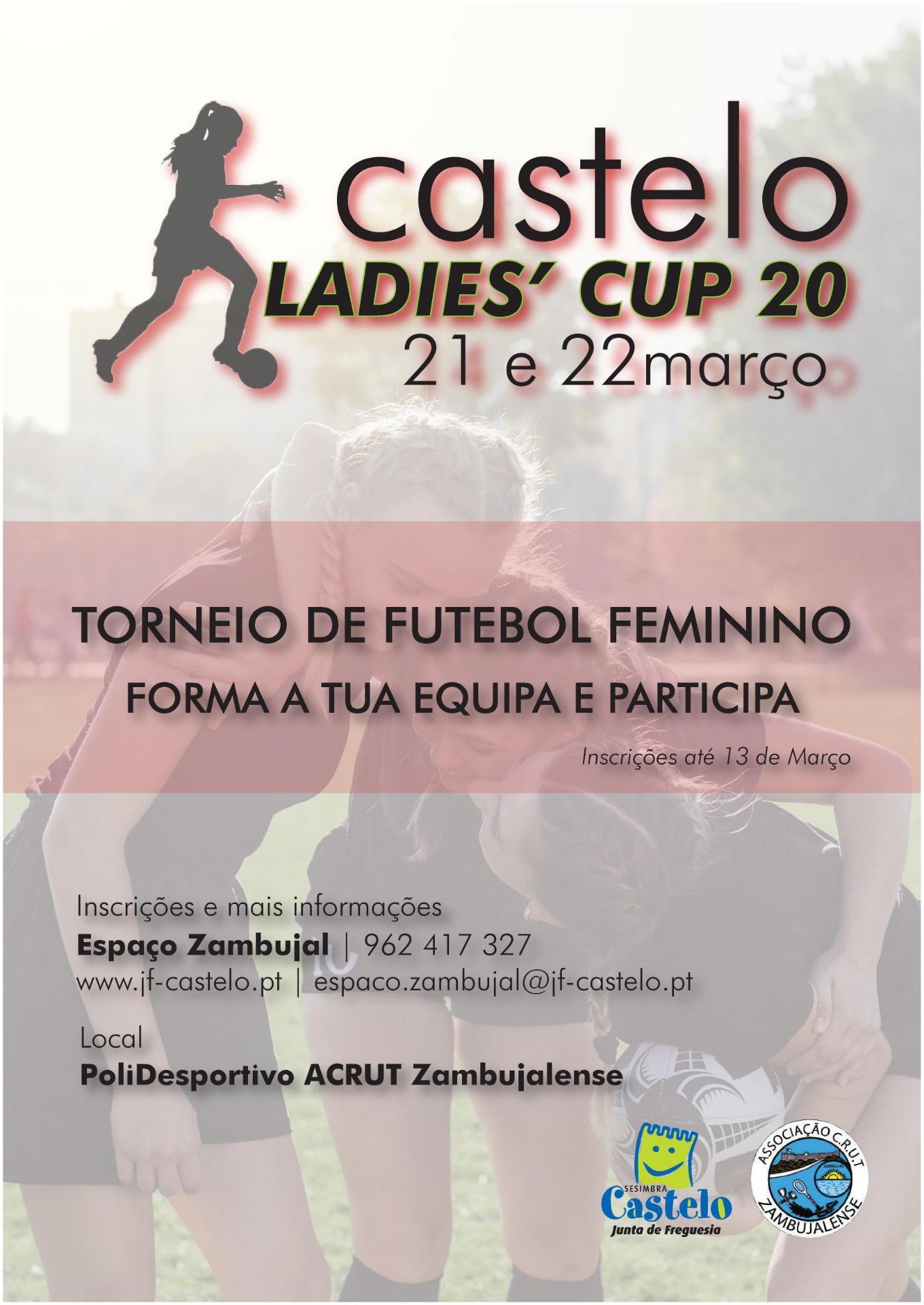 LADIES CUP´20  | Torneio de Futebol Feminino