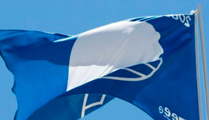 Praia do Meco renova bandeira azul