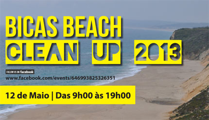 Bicas Beach Clean Up 2013