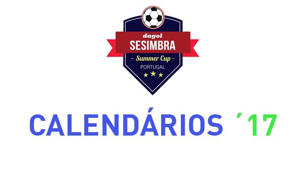 Calendários Sesimbra Summer Cup 2017