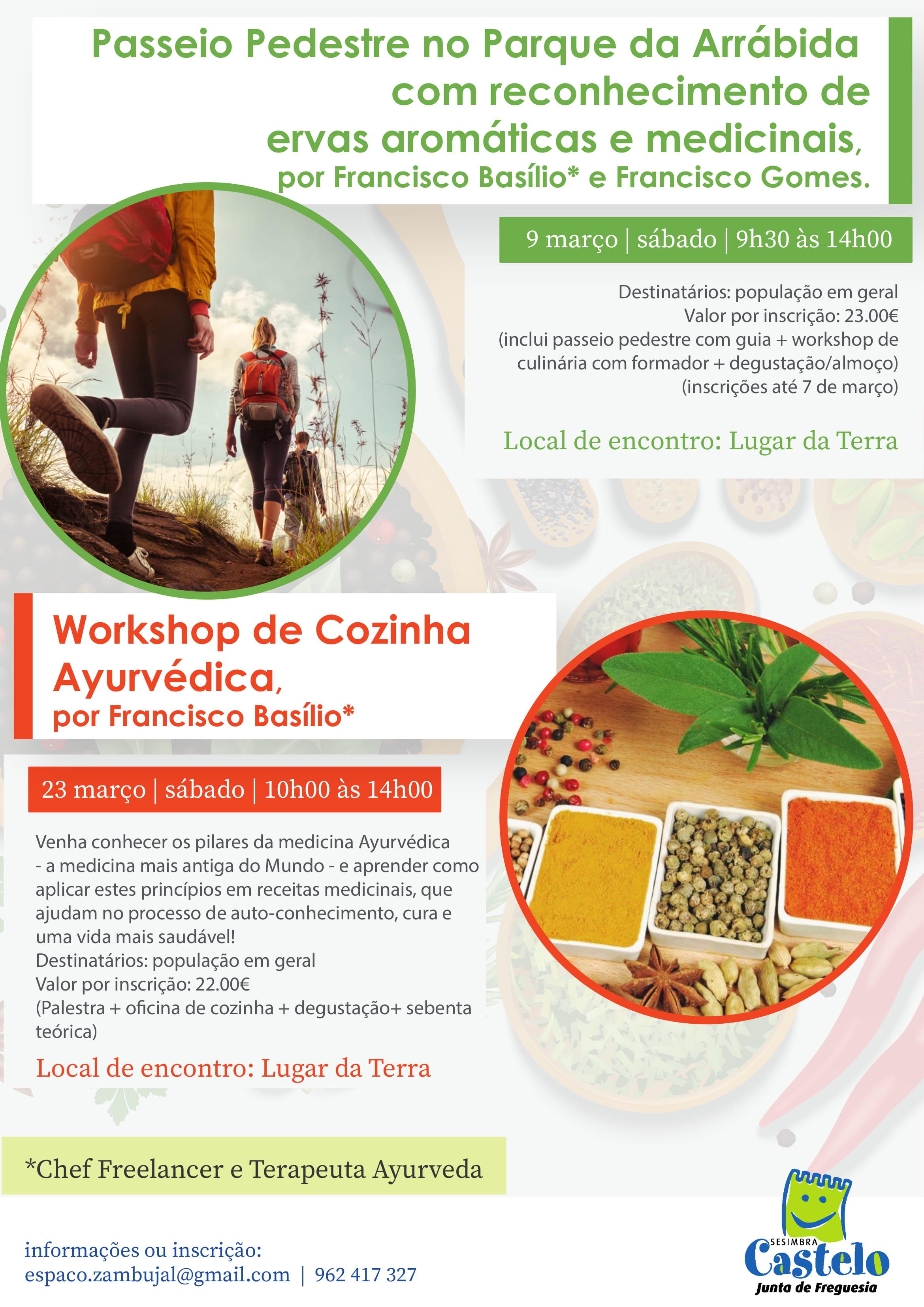 Workshop de Cozinha Ayurvédica