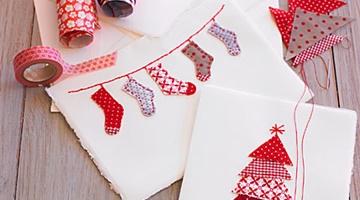 WORKSHOP |Arte em Cartão e Tecido: Presentes de Natal Únicos!