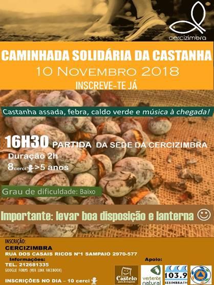 Caminhada Solidária da Castanha | CERCIZIMBRA