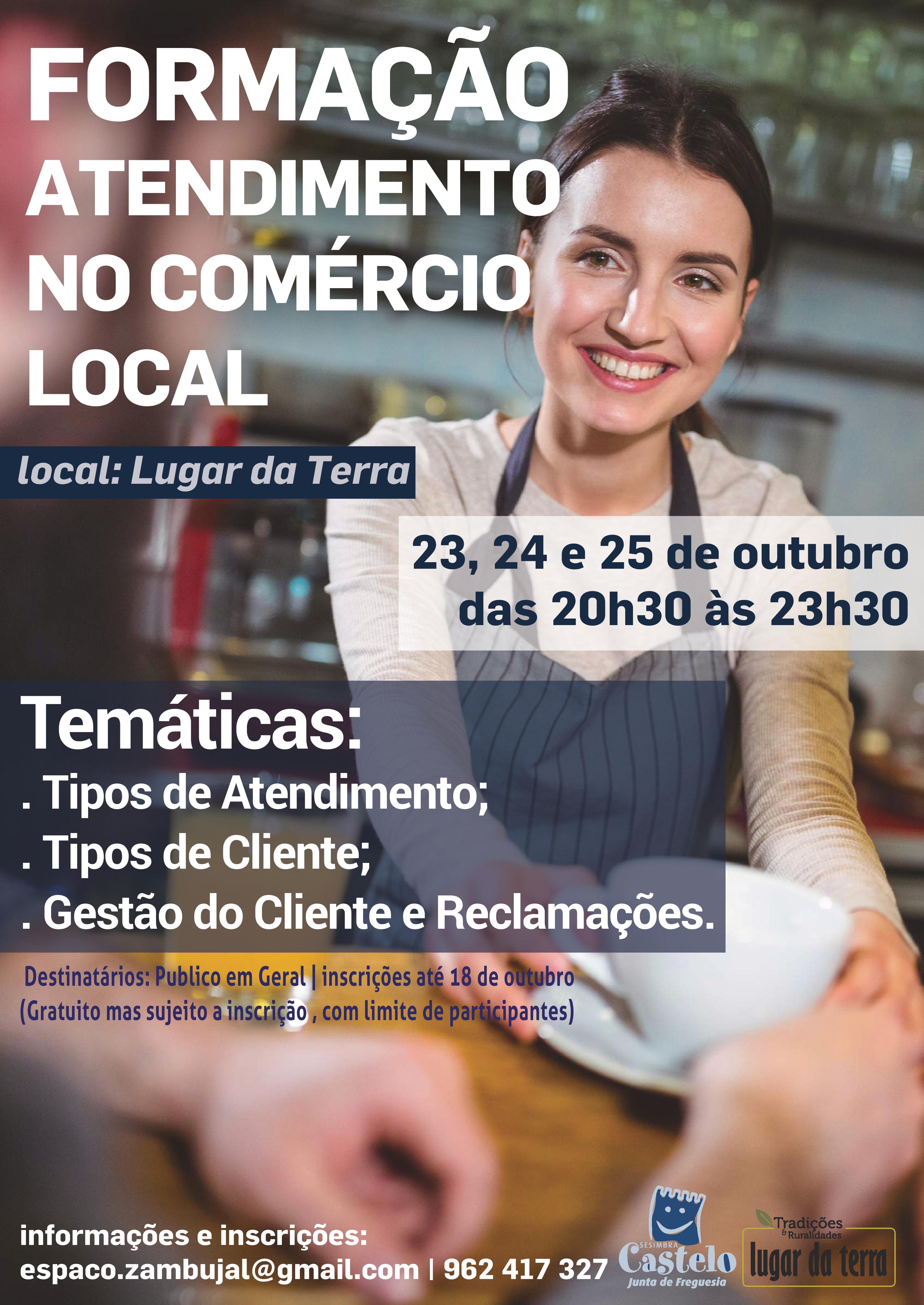 FORMAÇÃO | Atendimento no Comércio Local