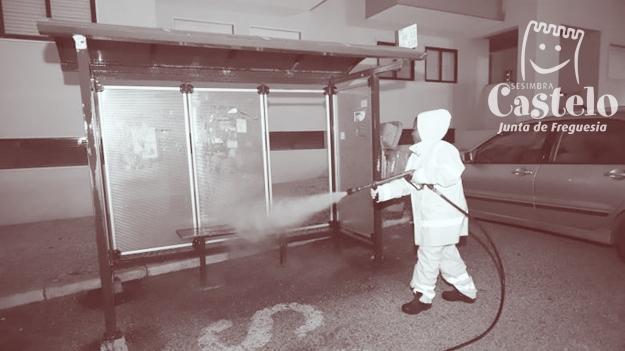 COVID-19 | HIGIENIZAÇÃO E DESINFEÇÃO NOS ESPAÇOS DA FREGUESIA