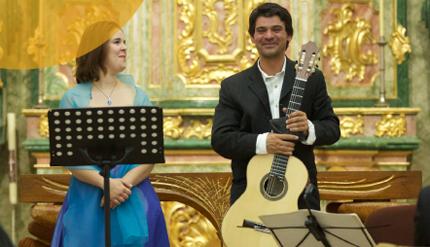 Concerto com Duo Lundu marca comemorações da Festa de Nossa Srª da Consolação