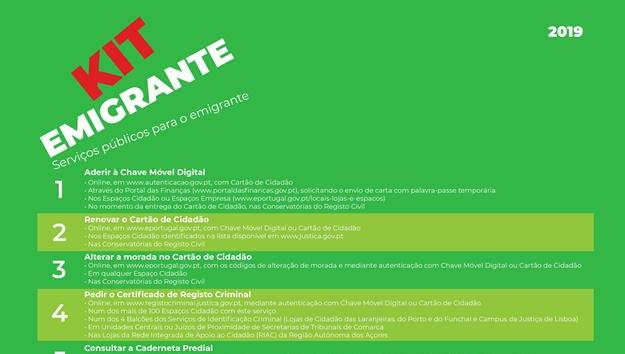 Kit Emigrante | Serviços Públicos
