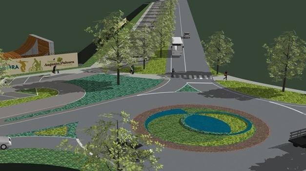 Estacionamento Parque Augusto Pólvora em fase de conclusão
