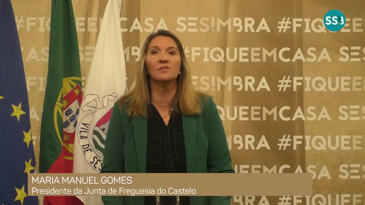 COVID-19 |  Mensagem de Maria M. Gomes_ Presidente da JF Castelo