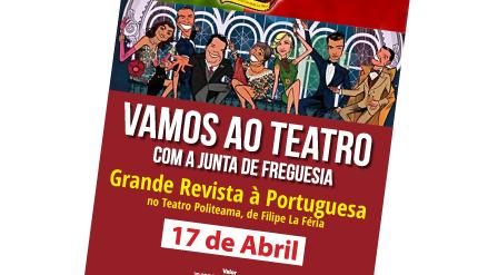 Vamos ao teatro com a Junta de Freguesia!