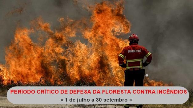 Periodo Crítico da Defesa da Floresta contra Incêndios