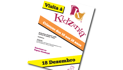 Visita à Kidzania