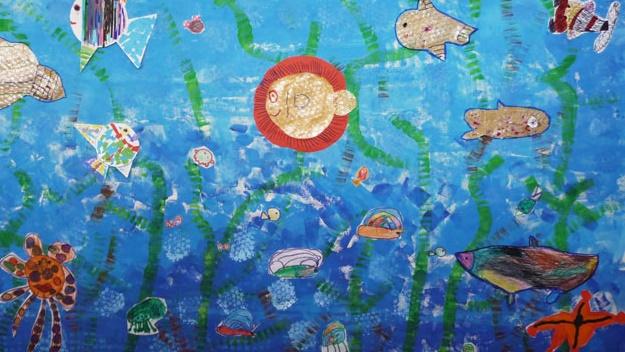 Oficina de Expressão Plástica | O Fundo do Mar