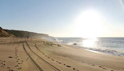 Requalificação dos acessos às praias do Moinho de Baixo e Bicas