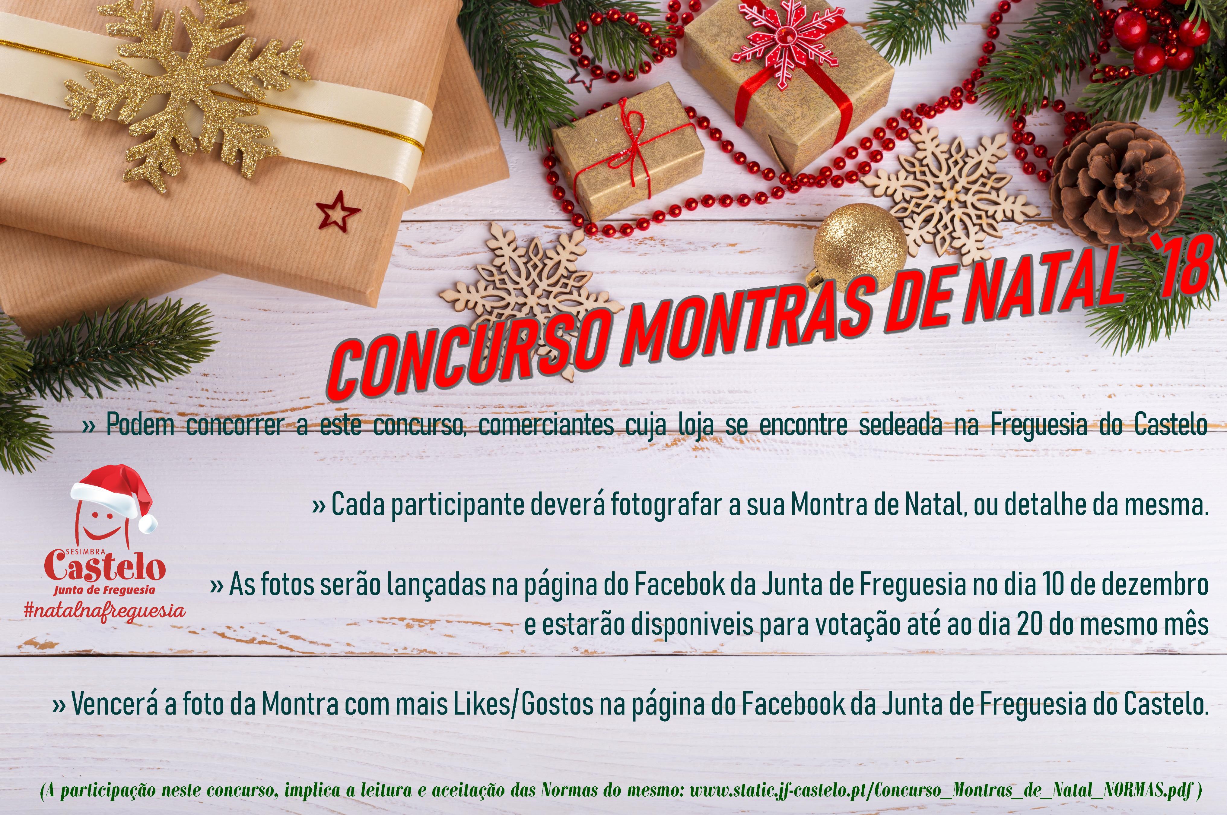 Concurso Montras de Natal `18