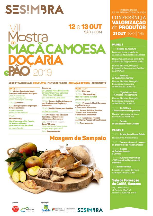VII Mostra da Maçã Camoesa, Doçaria e Pão Caseiro na Moagem de Sampaio