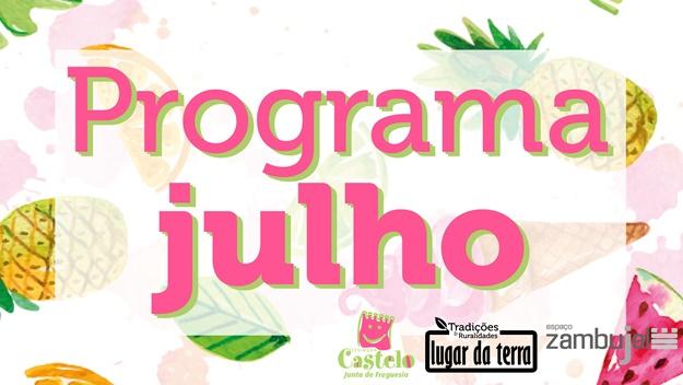 JULHO | Programação