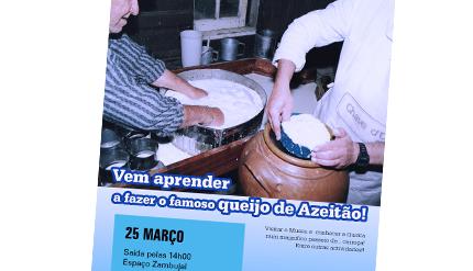 Vem aprender a fazer o famoso Queijo de Azeitão!